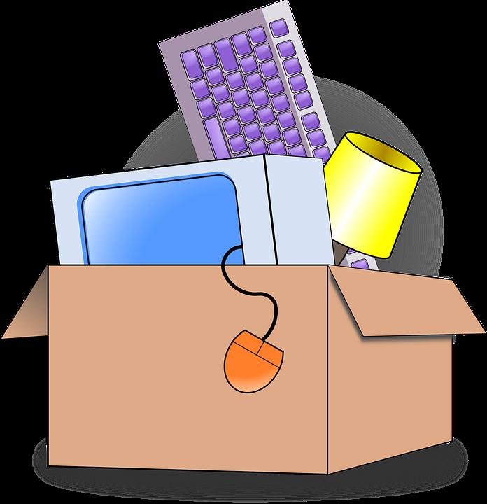 Les articles à conserver lors d'un déménagement